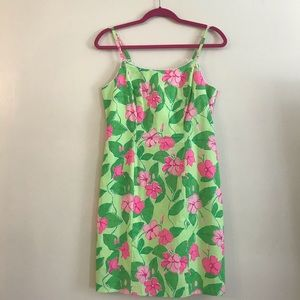 Lilly Pulitzer Green and pink dress